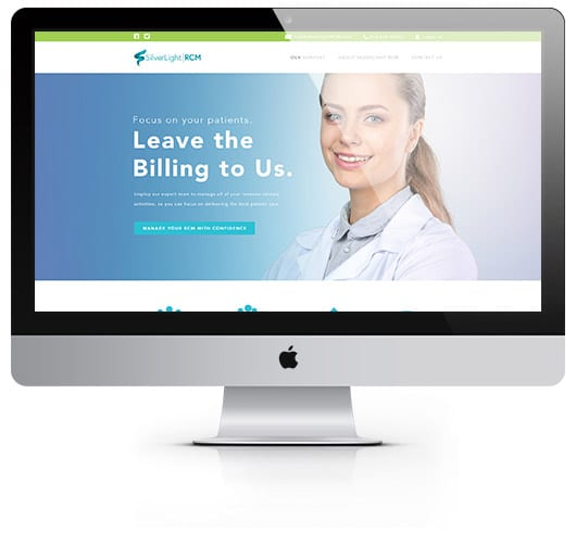 Website design and development services provided by LimeLight Marketing, a digital marketing agency.