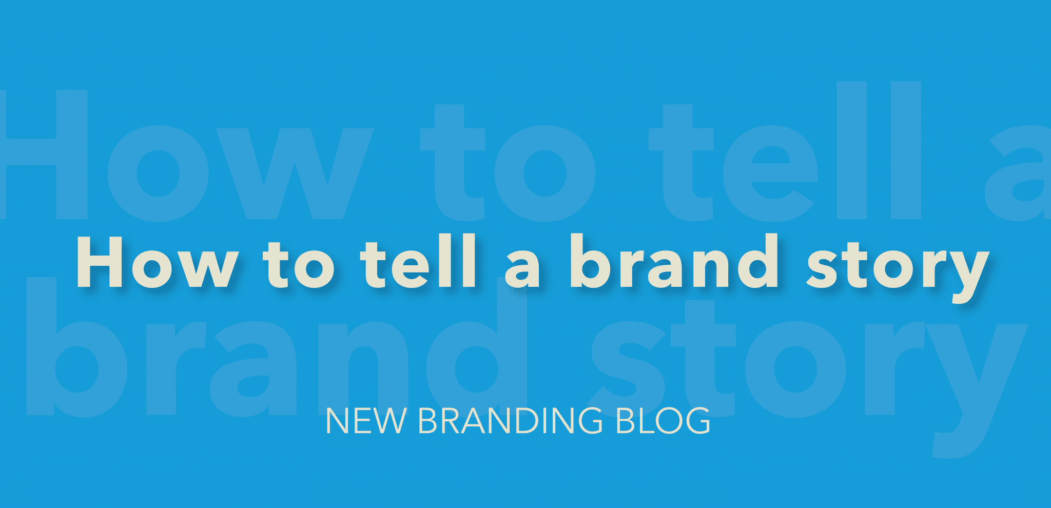 how to tell a brand story