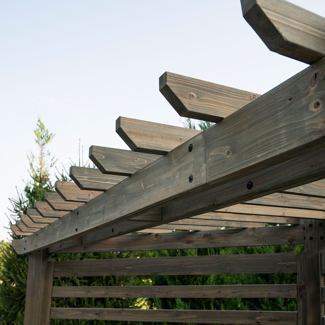 LimeLight Marketing Featured Work for BackYard Discovery Pergola
